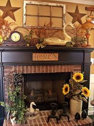 window over fireplace who knew love sunflowers in crock country home decor ideas i want to put a mantel somewhere in my house