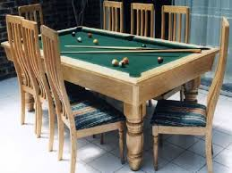 Inspiring Combination Pool Table Dining Room Table  On Diy - Combination pool table dining room table