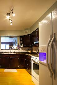 Bright Ceiling Lights For Kitchen Kitchen Ideas Striped Cabinet Lighting In The Kitchen