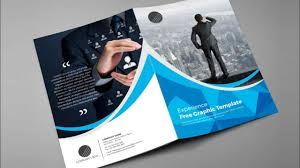how to design bi fold brochure brochure design in indesign cs6