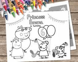 peppa pig game etsy