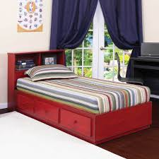 Captains Bed Twin Size Bed U0026 Bedding Ridgeline Twin Captains Bed With Bookcase And