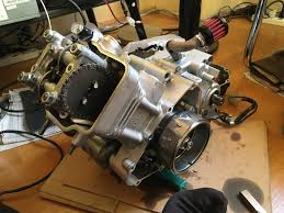 honda cbr 125r installing athena 166cc bore up kit on a honda cbr125r