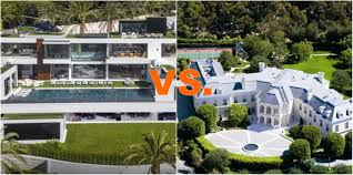 battle of the 200 million los angeles mega homes homes of the rich