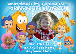 birthday invites top 10 bubble guppies birthday party invitations