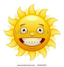 yellow merry sun rays stock vector 625833623