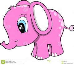 Cute Pink Pictures by Pink Elephant Clip Art Clipart Panda Free Clipart Images
