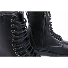s zip boots s eyelet lace up side zip closure combat sole ankle boots