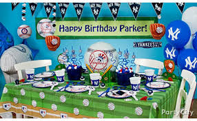 New York Yankees Home Decor by New York Yankees Party Ideas Guide Party City