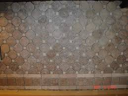 Kitchen Tile Backsplash Ideas by Brown Backsplash Glass Tile In Kitchen With Kitchen Backsplash