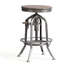 Adjustable Height Chairs Pittsburgh Adjustable Height Barstool Pottery Barn