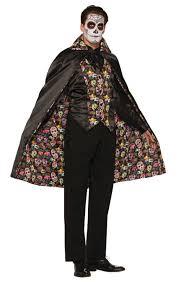 mardi gras cape day of the dead cape costumes
