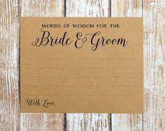 words of wisdom for and groom cards words of wisdom cards wedding advice cards advice for the