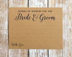 Words Of Wisdom Cards Words Of Wisdom Cards Wedding Advice Cards Advice For The Bride