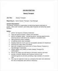 Sample Resume For Gym Instructor by Beautician Job Description Beautician Jobs 6 Bar Manager Job