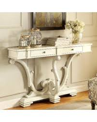 sanctuary 4 drawer console table spectacular deal on french sanctuary design antique white accent