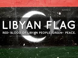 Lybian Flag Libya By Jeff Mrsny