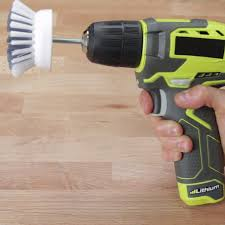 clean in half the time with this power scrubbing hack drills