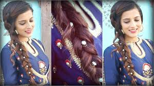Hairstyle For Party Easy To Do by Easy Hairstyle For Indian Wedding Occasions For Medium To Long