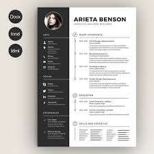 free modern resume template docx to jpg https s media cache ak0 pinimg com 736x c5 cd b6