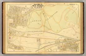 Stony Brook Map 20 Ward 23 West Roxbury David Rumsey Historical Map Collection