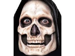skull skeleton pre painted foam prosthetic mask houseofhauntz com