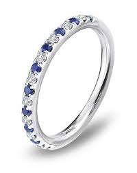 sapphire and wedding band platinum must haves blue nile platinum and sapphire