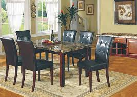 marble dining room sets faux marble dining room table and 4 chairs 3231 dining room