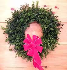 boxwood wreath billy edwards choose u0026 cut christmas trees