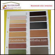 Window Blind String Wide Ladder Tape Cord Tilt 50mm Basswood Slat Cherry Wooden Blinds
