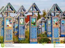 the merry cemetery of sapanta maramures romania those cemetery