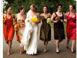 10 bridesmaid dresses autumn wedding colours fall wedding