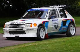 peugeot 205 group b 205 turbo 16