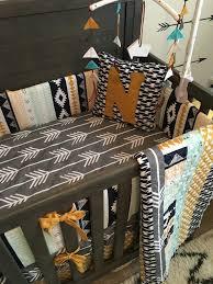 Nursery Crib Bedding Sets Crib Bedding Set Nursery Custom Noah Woodland Baby Bedding