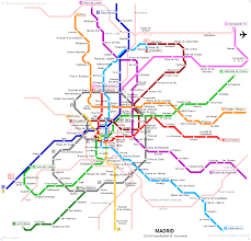 Santiago Metro Map by Subway Map Of Madrid My Blog