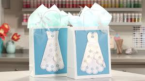 bridal shower gift bags wedding dress gift bags martha stewart