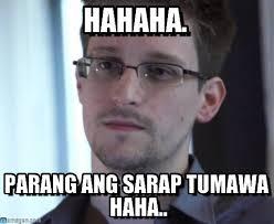 Hahaha Memes - hahaha edward snowden meme on memegen