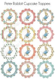 peter rabbit birthday party baby shower printables