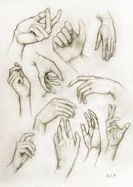 i love this piece of art as it shows the variation of hands that