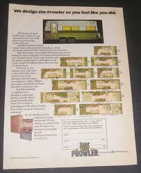 prowler travel trailers floor plans 1976 prowler travel trailer floor plans fleetwood enterprises