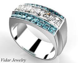 mens princess cut diamonds wedding ring vidar jewelry unique s princess cut ring custom order for saly vidar