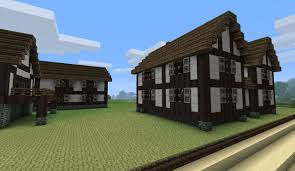 tudor houses with real wood minecraft project
