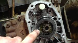 john deere 185 hydro jammed transmission fix youtube