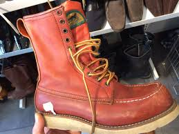 motorcycle boots that look like shoes iconic footwear the red wing 877 irish setters well dressed dad