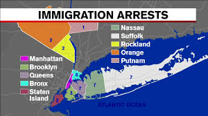 Map Of Long Island New York by Details Of 41 Arrested During Ice Illegal Immigrant Roundup In Nyc