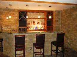 bar cool warm lamp on the ceiling house bar ideas pictures with
