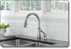 delta leland kitchen faucet reviews delta 978 dst leland single handle pull kitchen faucet