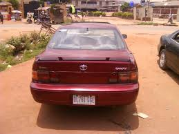 toyota camry 1994 model toyota camry 1994 model for sale at 550k reg call 08096960105