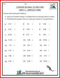 the converting terminating and repeating decimals to fractions a