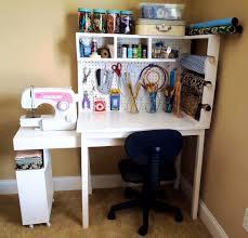 bedroom winning creative craft table storage and room